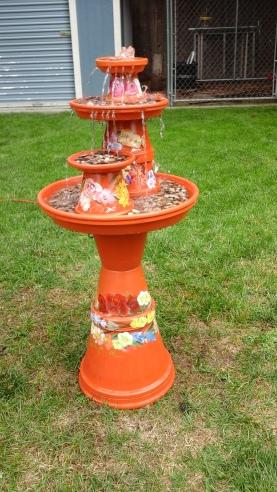 Garden Flowers Fountain